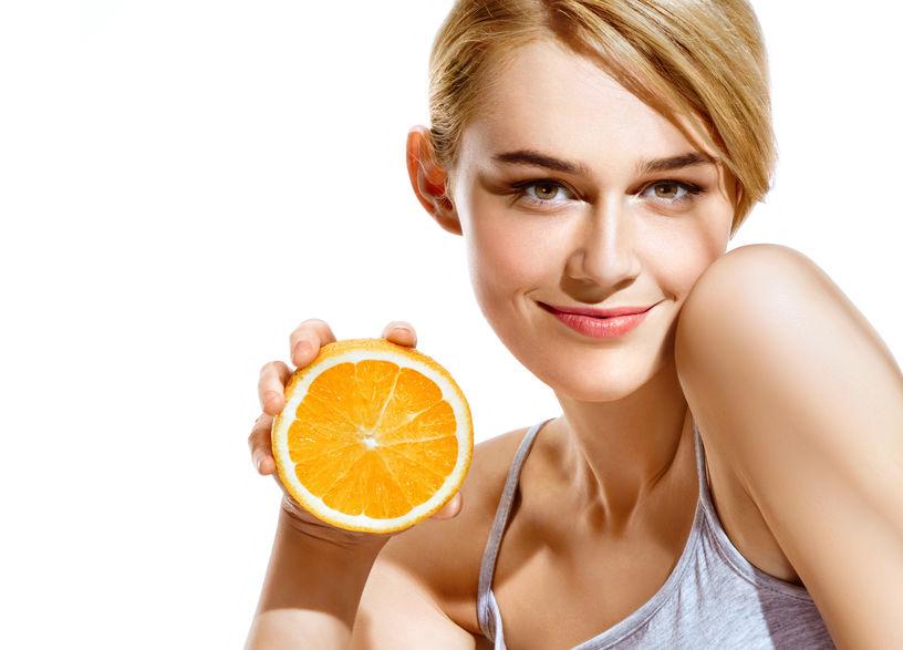 vitamina C pentru ten